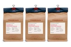 Designed by Glasfurd & Walker, Vancouver for Fernwood Coffee, Victoria - Canada