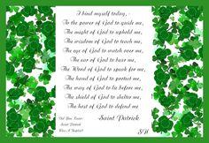 Christian Images In My Treasure Box: Saint Patrick -