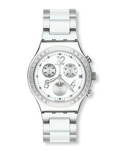 Relógio Cronógrafo - Dream White