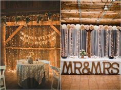 rustic sweetheart table decor / http://www.deerpearlflowers.com/top-20-rustic-country-wedding-sweetheart-table-ideas/