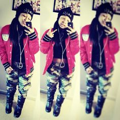 Reginae Carter ♥ she always thuggin #outfit 4 the day