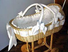 Como decorar moises para bebés - Imagui