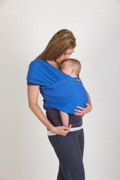It's like the the jersey wrap, but it's more stretchy.  On their web page they an carry an 8 year old, so you know it's strong!  I'm looking for carrier that I can tote Ewan around in right now as an infant.    Planet Bambini  - Boba Baby Wrap (stretchy), $48.00 (http://www.planetbambini.com/boba-baby-wrap-stretchy/)