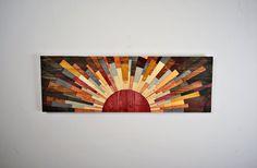 """Arte della parete arte - """"EDGE of THE DAY"""" - parete di legno, decorazione della parete di legno, decorazione della parete in legno, arte moderna muro, tramonto, alba, arte moderna legno di legno"""