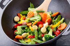 Zelf je roerbakgroenten en wokgroenten maken: dat is pas lekker!