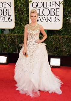 Golden Globes 2013 Fashion: JULIEANNE HOUGH