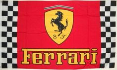 "3'x5' FERRARI RACING FLAG, Checkerboard, red, automobile car automotive, ferreri by ,. $19.45. FlagDistributor does not necessarily endorse any meanings or connotations you may assign to this or any other flag, ""Meaning, like beauty, is in the eye of the beholder."" We support the spirit of the 1st Amendment to the U.S Constitution; Censorship is UnAmerican and we don't practice it. Over 1,000 different designs in stock, perhaps the largest selection of flags in the world. Custome..."