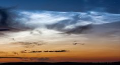 Photography is a great medium for capturing brief moments, like this fairly rare display of noctilucent clouds appearing over Scotland, and sharing it ...