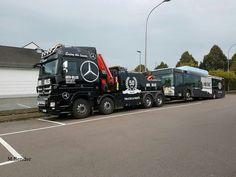 Mercedes 4450 8x4