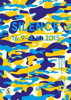 silence poster by simon gustafsson