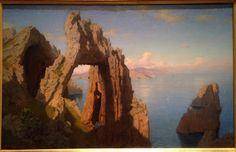 william stanley hesseltine - the natural arch