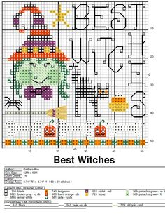 Best witches - Barbara Ana à télécharger en Pdf ici... http://www.cyberstitchers.com/free_patterns/bydesigner/category_barbara_ana