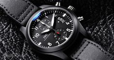 IWC  Pilots Watch Chronograph Top Gun  / Ref.IW388007