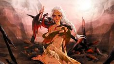 50 Pieces of Game of Thrones Fan Art That Will Explode Your Mind