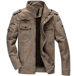 Casual man winter jackets Men coats Army Military Outdoors Mens jacket Male coat clothes overcoat Plus size Black Khaki green-in Jackets from Men's Clothing & Accessories on Aliexpress.com   Alibaba Group