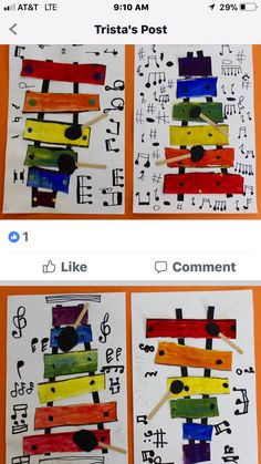 Y.A.M. and Music Month, Color -Kinders