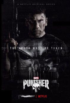 """Un par de carteles de """"Marvel's The Punisher"""""""