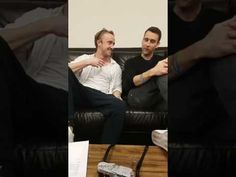 Tom Felton and Matthew Lewis Facebook Live Q&A session on Friday, 27th January 2017. Jason Isaacs appears for a bit too. Original video by Harry Potter Offic...
