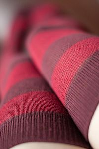 Extraordinary Striped Thigh Highs, a new color I just got and adore.