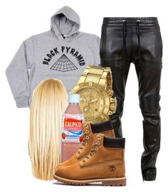 Dopeness all day  by trillest-queen on Polyvore featuring polyvore, fashion, style, Invicta and Balmain