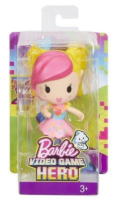 Barbie Video Game Hero Mobile Game Character 5 in. Barbie Hair, Barbie Toys, Doll Stands, Barbie Collection, Game Character, Disney Frozen, Doll Accessories, Childhood Memories, Video Game