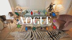 """Cachorro em apartamento? Sim! No episódio de hoje de """"A Moda da Casa"""" @anastrumpf visita o lar de @renatafigueiredooficial diretora criativa da @tigoficial que convive com seus cinco pets - e que mostra seu amor pelos cães também na decoração! Acesse tvvogue.com.br e assista à íntegra do vídeo com direção de @camiguerreiro (@studiocamilaguerreiro) coordenado por @carolhungria e @renatagarciac com produção de @maidornelles beleza de @barbararosental e pós-produção de @caroool_lopes. Toda…"""