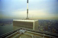 The World Trade Center was part of the NY skyline for 30 years. View photos from the Top of the World Observatory, to the final Tribute in Light. World Trade Center Site, Trade Centre, Tribute In Light, Ny Skyline, Washington Square, World Images, World's Fair, Tours, Top Of The World