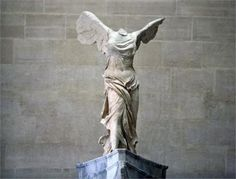 The Winged Victory of Samothrace, discovered in 1863, is estimated to have been created around 200–190 BC. Description from baringtheaegis.blogspot.com. I searched for this on bing.com/images