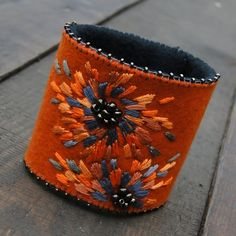 with orange peony (proj. agat.handmade), do kupienia w DecoBazaar.com