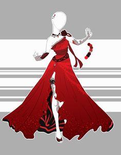 .::Outfit Adoptable 30(OPEN)::. by Scarlett-Knight.deviantart.com on @DeviantArt