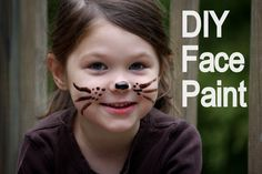Homemade Face Paint Tutorial - So Safe You Can Eat It!