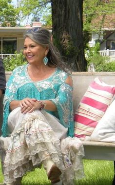 Her comedy and commentary are not my cup of tea, but I have to admit Roseanne Barr has never looked better.