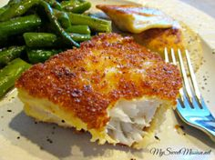 Tired of boring fish for dinner? My recipe for Crunchy Panko Crusted Cod using P. Tired of boring fish for dinner? My recipe for Crunchy Panko Crusted Cod using Panko bread crumbs will take your fish to a whole new delicious crunchy. Panko Crusted Cod, Cod Fish Recipes, Seafood Recipes, Cooking Recipes, Fried Cod Recipes, Best Cod Recipes, Tilapia Recipes, Cooking Rice, Gourmet