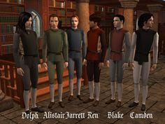Image Everybody Plays The Fool, Royal Clothing, Renaissance Fashion, Basic Outfits, Plain Black, Sims 2, Italian Style, Middle Ages, Simple Style