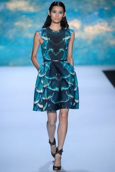 Monique Lhuillier Spring 2013 Ready-to-Wear - Collection - Gallery - Style.com