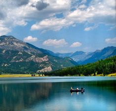 Williams Creek Reservoir, Pagosa Springs, Colorado I have been here this is wonderful just as pretty as the picture