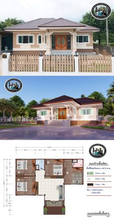 Mary's ideas: Large Home Floor Plan Ideas Model House Plan, House Layout Plans, Bungalow House Plans, Dream House Plans, House Layouts, House Floor Plans, Modern Bungalow House Design, Modern Small House Design, House Front Design