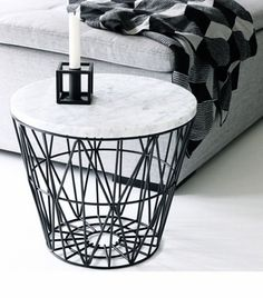 Via Nordic Leaves | Ferm Living | By Lassen | Black and White