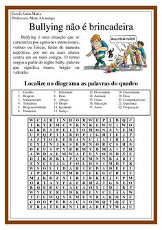 Modulo 2, English Activities, English Class, Professor, Teaching, Education, Math, Kids, Santa Maria