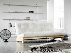 FRESH - sofa drewniana z materacem futon, Karup - Meble