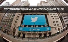 Twitter'dan Erişim Engellemesine Açıklama Geldi !
