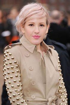 Ellie Goulding ...pastel pink