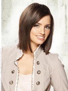 This Pin was discovered by Gabrielle Nolan. Discover (and save!) your own Pins on Pinterest. | See more about brunette bob, medium hairs and medium haircuts.