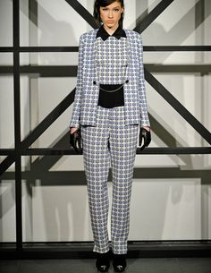 @Tanya Taylor Fall 2013 #fashion #NYFWFall2013