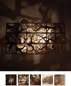 Amazing Cardboard Light Sculpture by Jungmo Kwon | Apartment Therapy