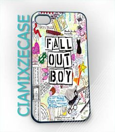 Fall Out Boys art   iPhone 4/4s/5 Case  Samsung by CiamixzeCase, $13.50.... Surprised Hanna doesn't have one