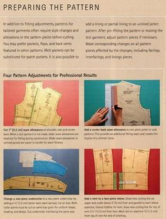 Sewing a Classic Jacket - Pesquisa Google