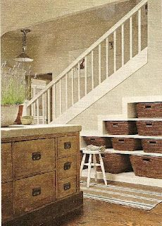 19 besten stairway storage bilder auf pinterest treppen dachgeschoss und hausdekorationen. Black Bedroom Furniture Sets. Home Design Ideas