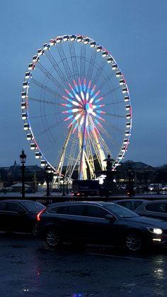 La grande roue place de la Concorde Concorde, Bastille, Ferris Wheel, Fair Grounds, Paris, Travel, Montmartre Paris, Trips, Traveling