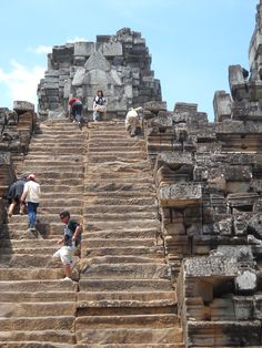 Steep Stairs at Ta Keo Temple http://liliansg.hubpages.com/hub/Siem-Reap-Cambodia-Angkor-Temples